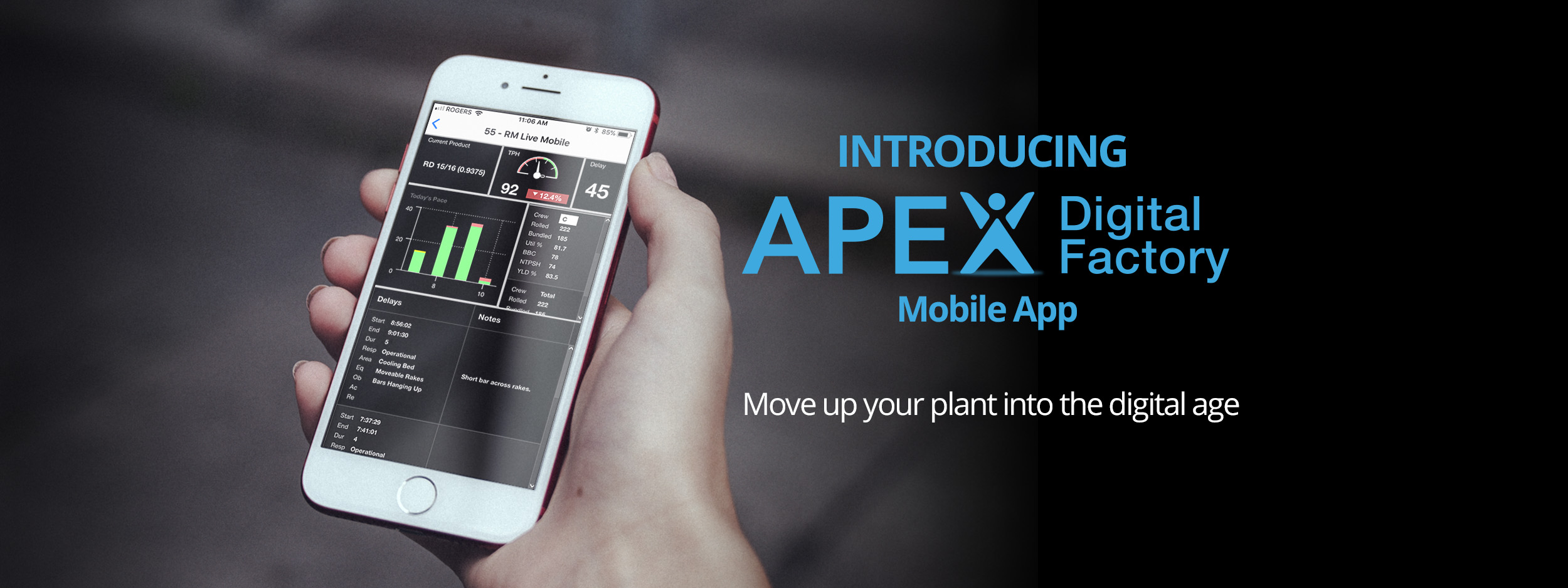 APEX Digital Factory Mobile App